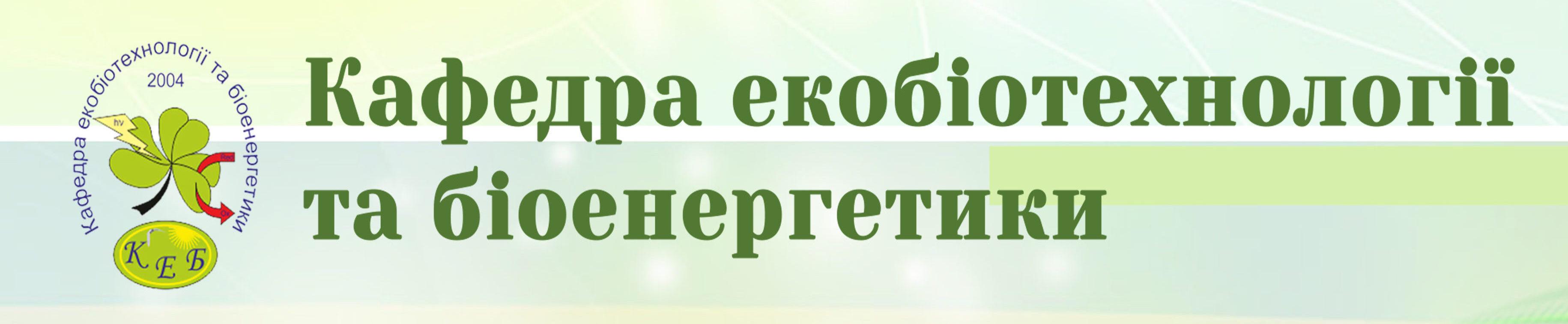 Кафедра КЕБ